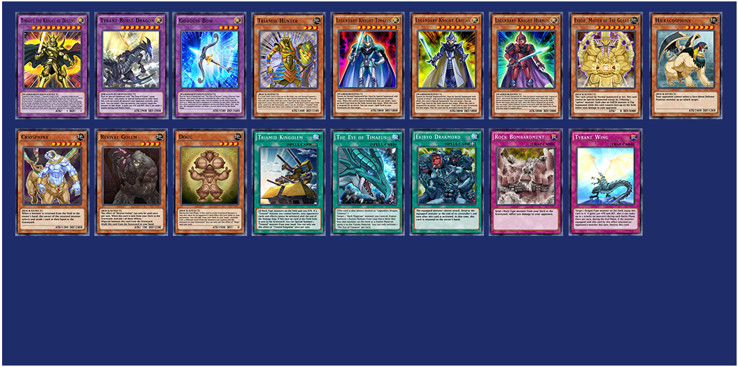 DGame Links | Duel Links: 20th Mini Box: Guardians of Rock