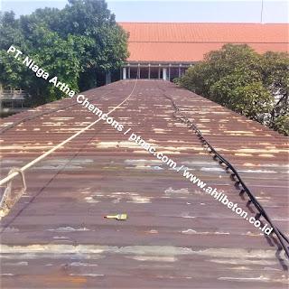 Sebelum Perbaikan Atap Spandek