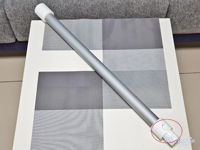 【MI 小米】米家無線吸塵器 G9 (白色) 開箱_延長桿