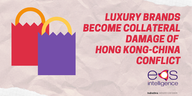 Luxury Brands Become Collateral Damage of Hong Kong-China Conflict