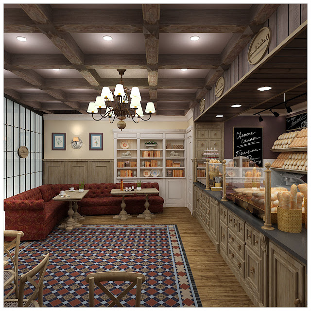 дизайн кафе,дизайн проект кафе,Поль бейкери,интерьер