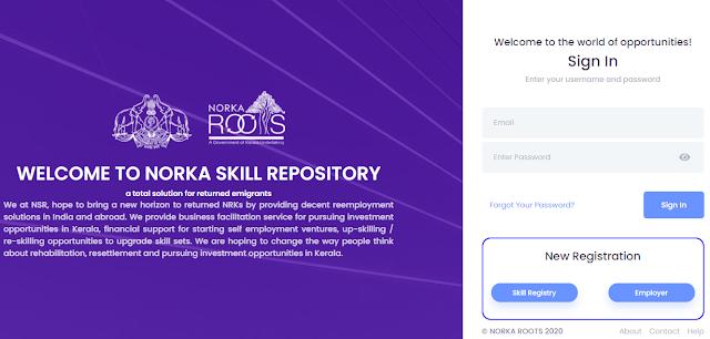 skill.registernorkaroots.org - Gulf Returnee Job Seeker Register Online (Skilled and Semi Skilled)