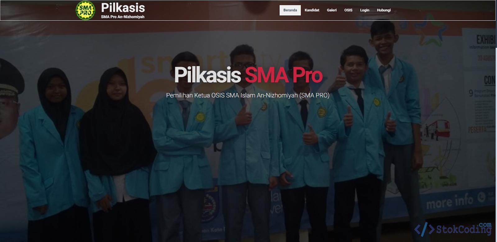 Sistem Aplikasi Pemilihan Ketua Osis (PHP)