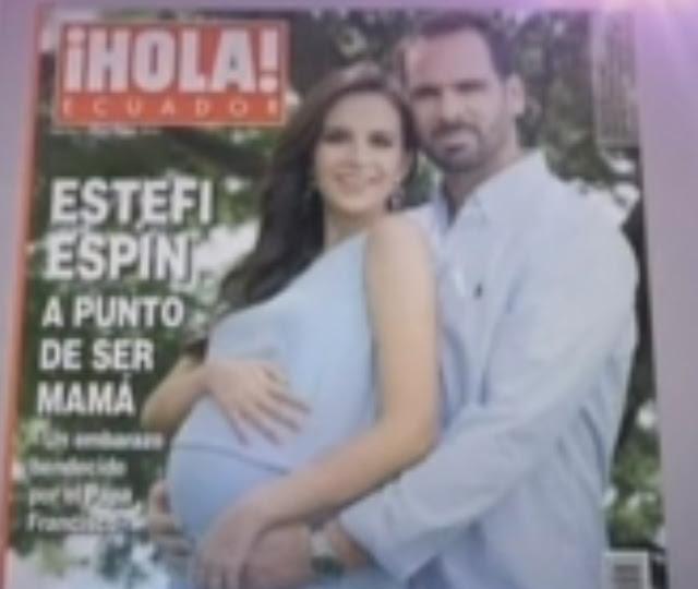 estfani espin embarazo