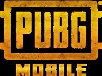 Logotipo em tons de amarelo da PUBG mobile