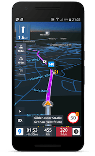 Sygic GPS Navigation & Maps v17.4.15 Patched APK is Here !
