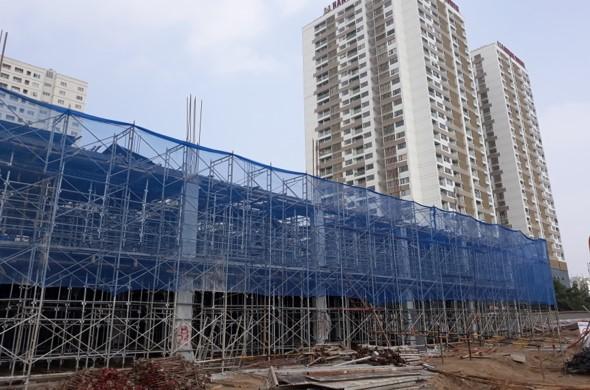 Hình ảnh tiến độ dự án Embassy Garden ngày 13-11-2017