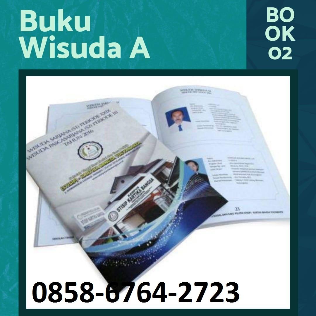 Percetakan Buku WISUDA/ Kenangan/ Tahunan 0858-6764-2723 | Yearbook Annual Book