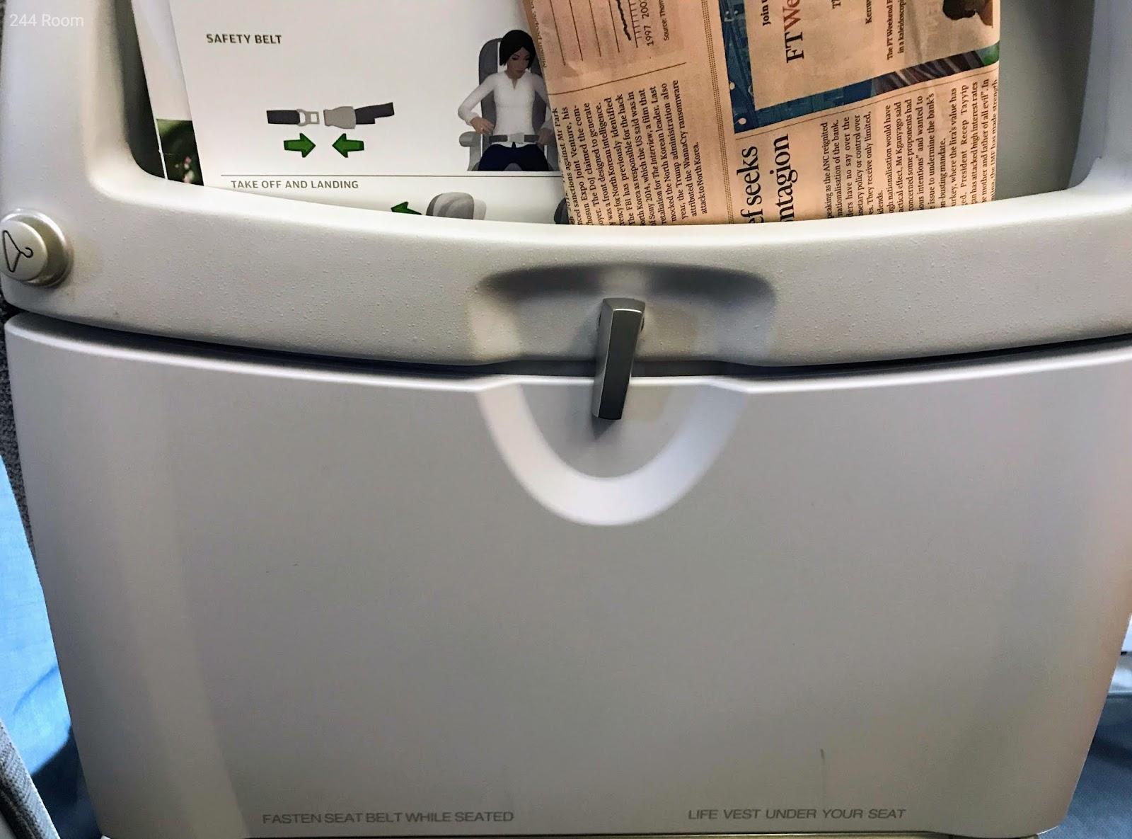 Finair A321 Seat2