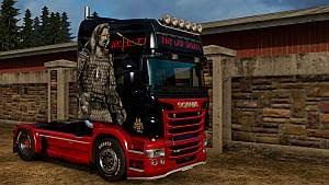 The Last Samurai skin for Scania RJL