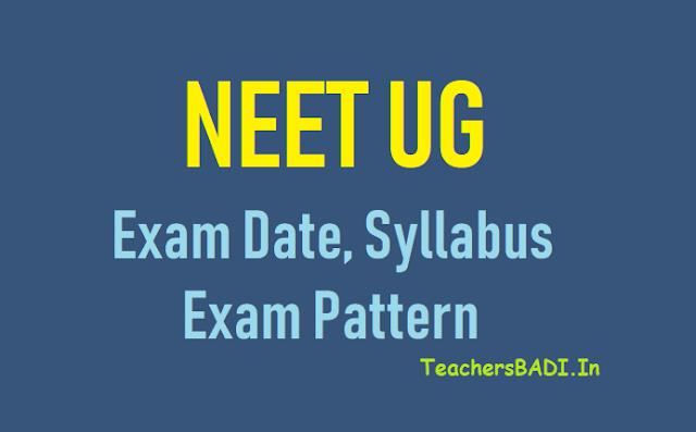 nta neet ug 2019 exam date,syllabus,exam pattern,neet ug 2019 exam date, eligibility,syllabus,application fees,counselling details