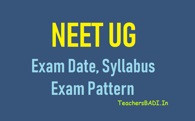 nta neet ug 2020 exam date,syllabus,exam pattern,neet ug 2020 exam date, eligibility,syllabus,application fees,counselling details