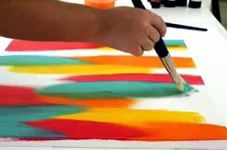 Cara Membuat Kerajinan Tangan Sederhana, Lukisan Unik 3