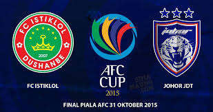 Final Piala AFC 2015 JDT Vs FC Istiklol