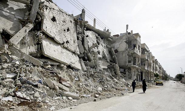 Rebuilding Baba Amr