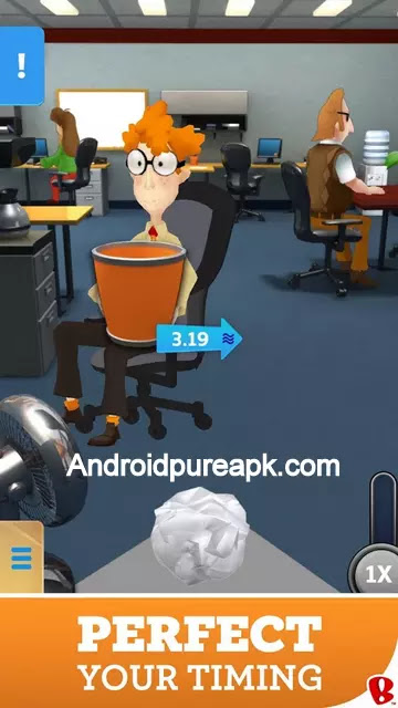 Paper Toss Boss Mod Apk