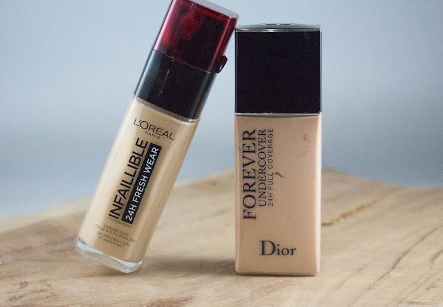 Dior Forever undercover vs L'oréal Infaillible 24 fresh Wear - Le dupe parfait ?