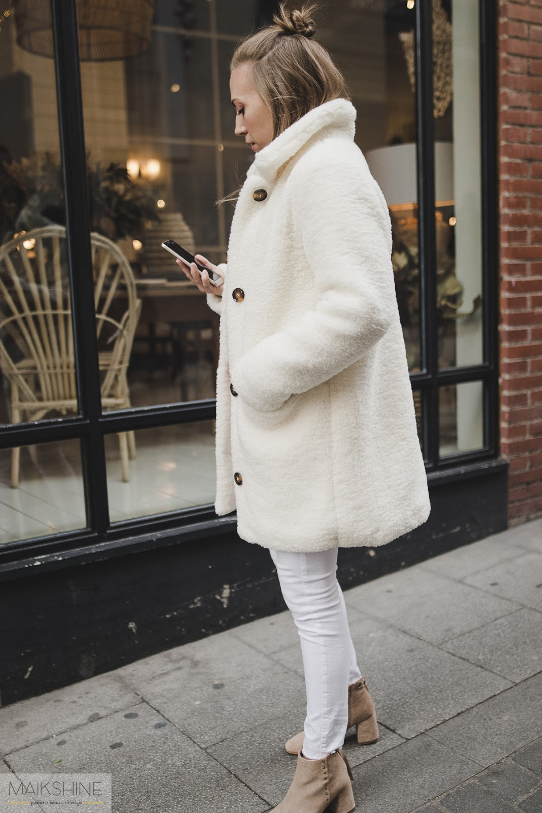 Pretty pastels winter outfit