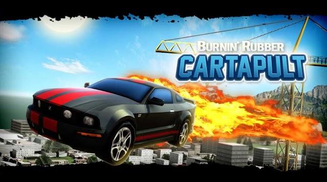 Burnin Rubber Cartapult - Play Online Free Game