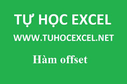 Hàm OFFSET trong excel