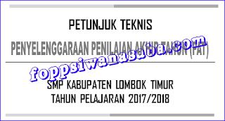 DOWNLOAD JUKNIS PAT TAHUN PELAJARAN 2017/2018