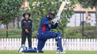 Steven Taylor 72 - UAE vs USA 1st T20I 2019 Highlights