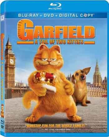 Garfield 2004 480p 250MB BRRip Dual Audio [Hindi - English] MKV