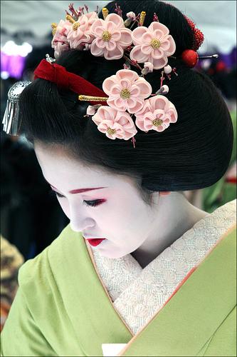 geisha, japanese camellia oil