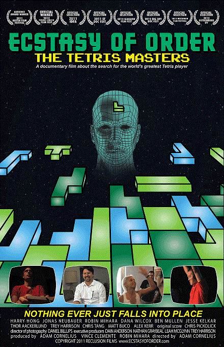 martes, abril 21, 2015 Ecstasy Of Order: The Tetris Masters Título ...