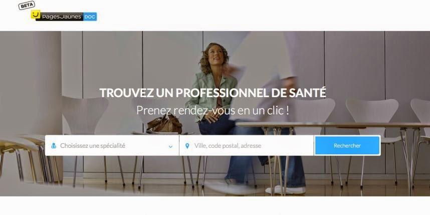 PagesJaunes Doc, un nouveau site pour prendre RDV avec un médecin