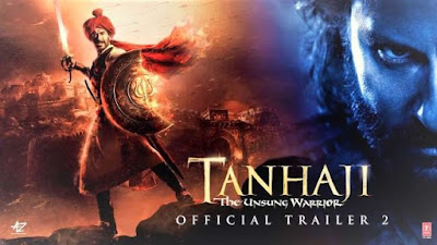 Tanhaji Box Office Collection Day Wise report in Hindi