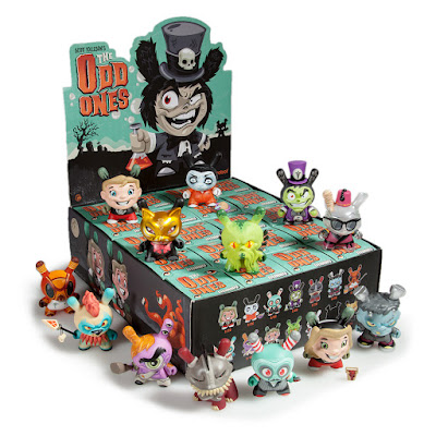 "The Odd Ones 3"" Dunny Blind Box Series by Scott Tolleson x Kidrobot"