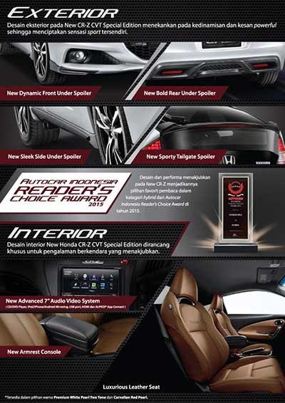 Honda CRZ Baru Bandung 2016