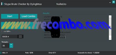 Skype account checker by dyingfetus