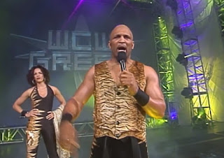 WCW Greed 2001 - Ernest 'The Cat' Miller w/ Miss Jones