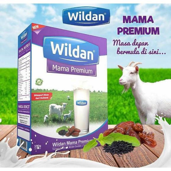 kebaikan susu kambing wildan untuk ibu mengandung