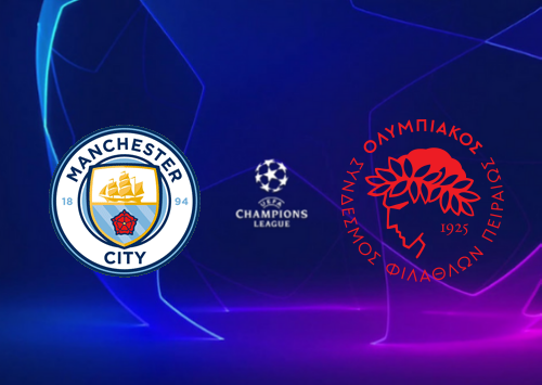 Manchester City vs Olympiakos Piraeus -Highlights 03 November 2020
