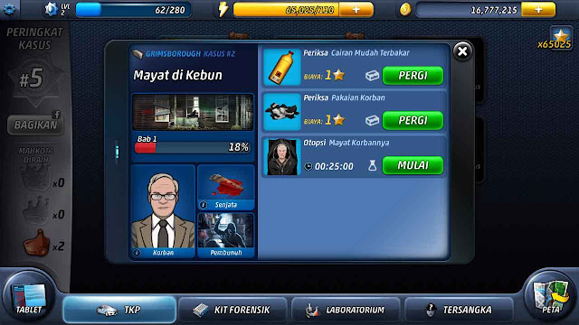 criminal case cheat gratis