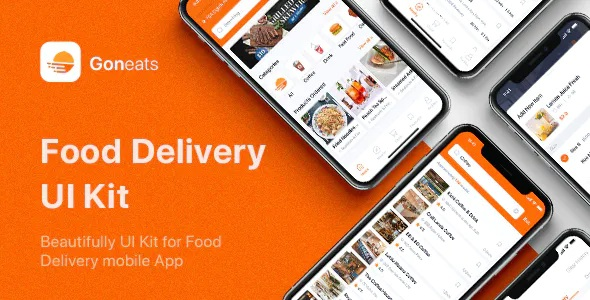 Best Food Delivery UI Kit