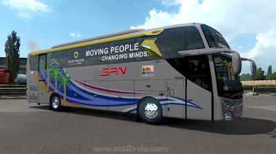 Livery SAN JB3 Scania K360