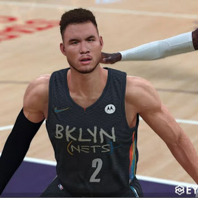 Blake Griffin Cyberface and Body Model By Lebron Xu [FOR 2K21]