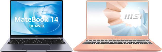 Huawei MateBook 14 AMD 2020 vs MSI Modern 14 B11M-090XES