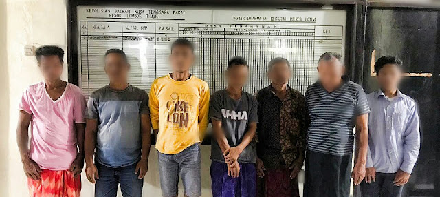 Polisi Bekuk 6 Pelaku Judi Togel Online di Pringgabaya