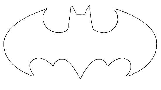 Resultado de imagem para molde batman