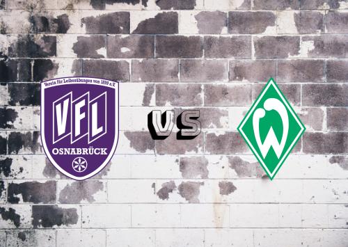Osnabrück vs Werder Bremen  Resumen
