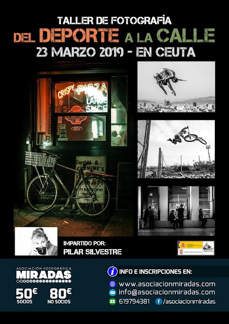 Taller de Fotografía 'Del Deporte a la Calle', con Pilar Silvestre
