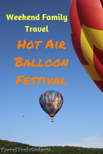 Weekend Family Travel Fun: Hot Air Balloon Festival And Beach Trip