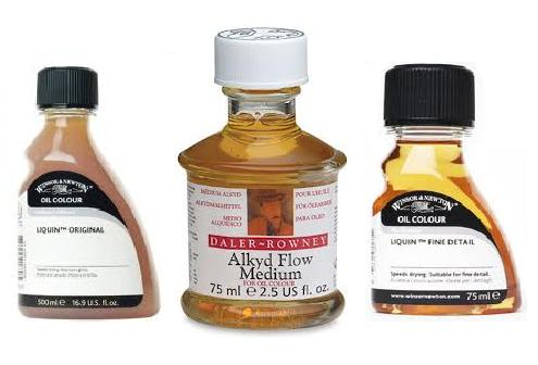 Oil painting medic i m confused about alkyd mediums for for What are alkyd paints