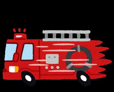 119番のイラスト(消防)