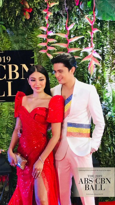 Real-life couple James Reid and Nadine Lustre